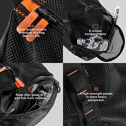 Grip Power Pads Mesh Multipurpose Gear Bag
