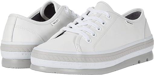 White Savana Leather