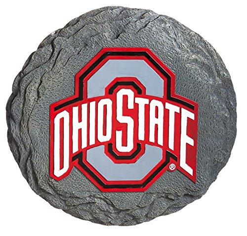 Ohio State Buckeyes Logo Decorative Garden Stone Plaque