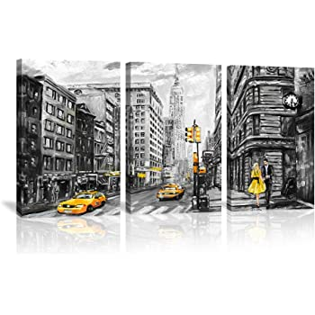 NEW YORK FIRE DEPARTMENT MODERN CANVAS PRINT PICTURE READY TO HANG