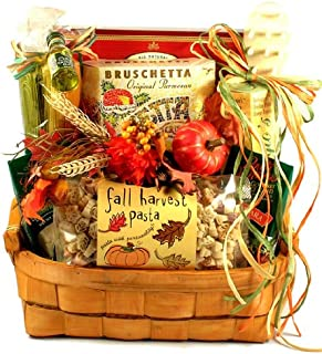 Gift Basket Village Warm Autumn Wishes Italian Gift Basket for Fall
