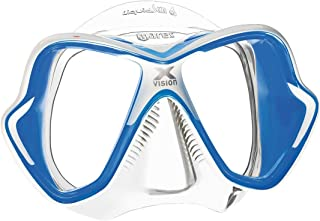 Mares X-Vision Ultra Liquid Skin Dive Mask, White/Blue
