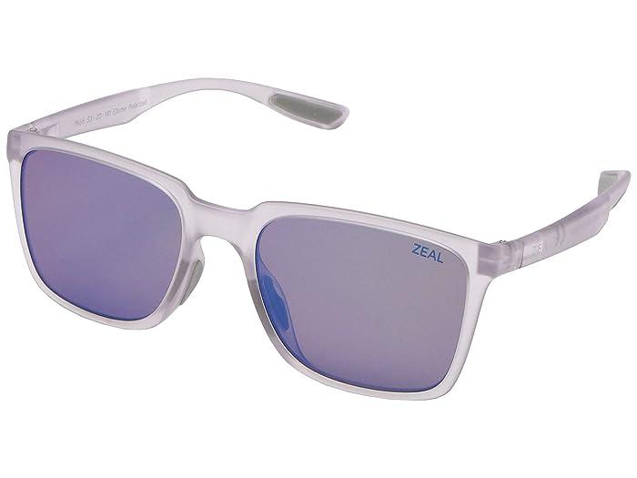 Zeal Optics  Campo (Glacier/Polarized Horizon Blue Lens) Fashion Sunglasses