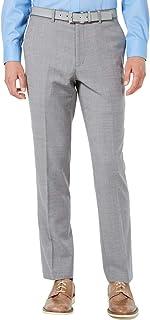 BAR III Men's Slim-Fit Stretch Light Gray Suit Separates