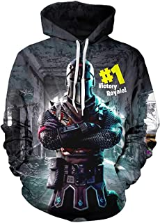 Youth 2021 Gamer Hoodie 3D Print Pullover Hooded...
