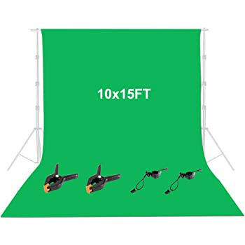 15x10ft Green Scenery Backdrop Background for Photography Photo Video Props Wall Mural HXFU145