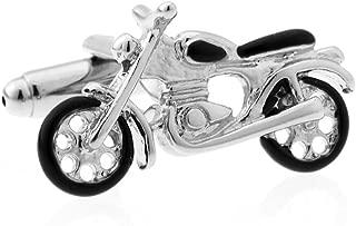 Presentation Gift Box Motorcycle Bike Street Cruiser Pair Cufflinks & Polishing Cloth