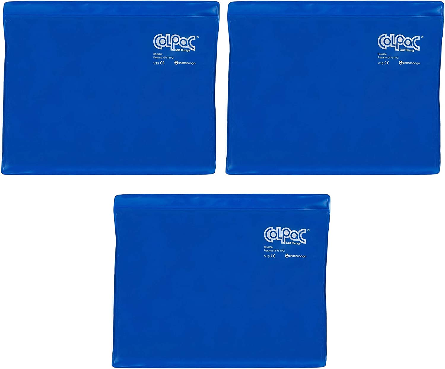 Popular popular Chattanooga ColPac Reusable Gel Factory outlet Ice Pack Blue Cold - Therapy Vin