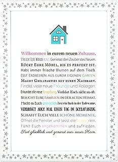 Personalisiertes Wandbild//Bild Schutzengel//Geschenk Tochter//Einweihungsgeschenk//Geburtstag//Mutter Tocher Geschenk//Geschenk Weihnachten//DIN A4 wahlweise mit Bilderrahmen
