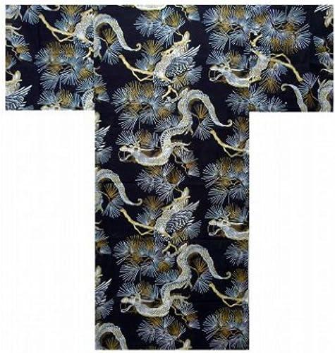 Authentische japanische Samurai Geisha Yukata luftig & kuehler Kimono - Drachen & Falke  890
