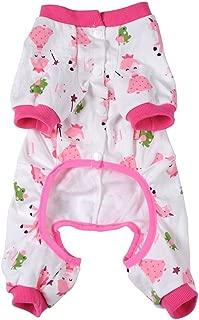 Widen Pet Dog Clothes Pajamas Coat Jumpsuit,3color 4 Sizes
