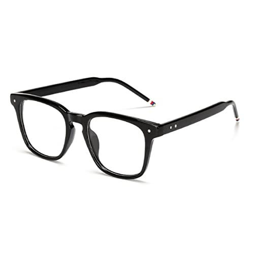 c6bb6b390f J L Glasses Vintage Classic Full Frame Wood Grain Unisex Glasses Frame