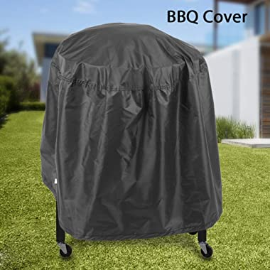 Simlug BBQ Cover,BBQ Cover Protector Waterproof BBQ Grill Cover UV Weather Rip Resistant