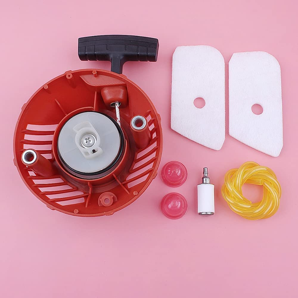 KENZAVO Recoil Limited time sale Pull Special price for a limited time Starter Air Fuel For Husqvarna Line 1 Filter