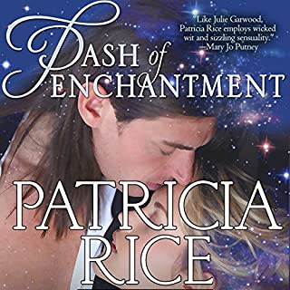 Dash of Enchantment audiobook cover art