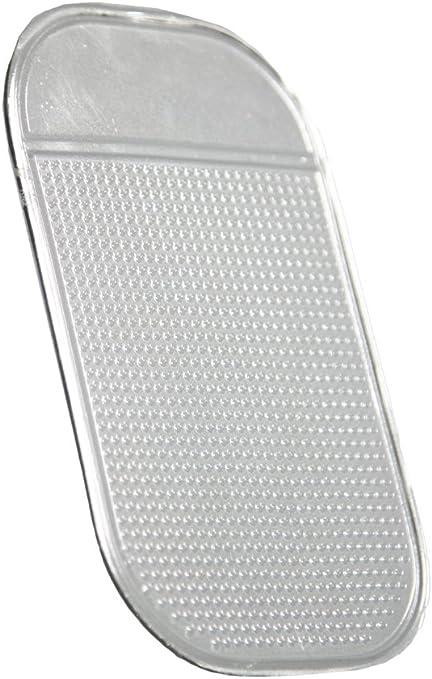 Com Four Antirutsch Matte Klebematte Haft Pad Für Smartphones Schlüssel Brillen Uvm Transparent 1 Stück Küche Haushalt