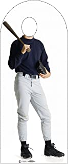 Advanced Graphics Baseball Player Stand-in Life Size Cardboard Cutout Standup