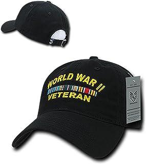 c9ee4d248f5 Rapid Dominance World WAR II Veteran Embroidered Low Profile Soft Cotton  Baseball Cap