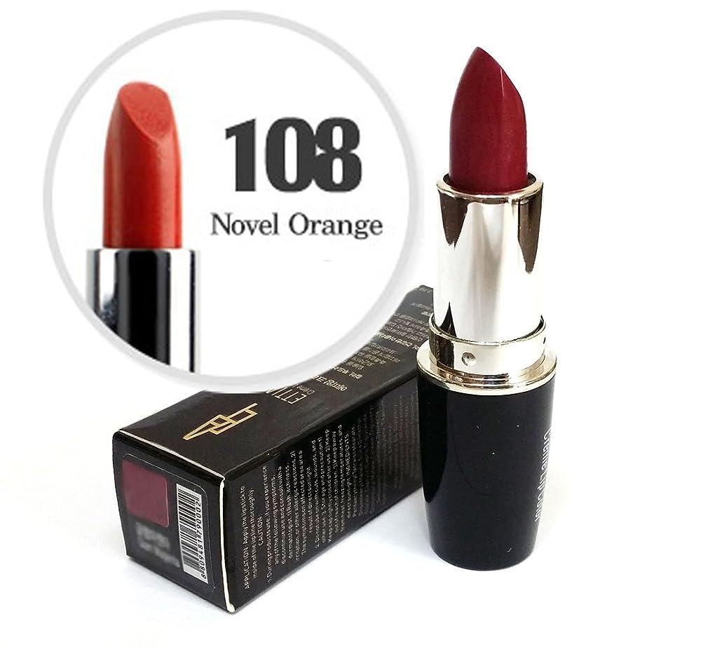 永続アパルはちみつ[Ettian] クリームリップカラー3.5g / Cream Lip Color 3.5g / 新しい口紅 #108小説オレンジ/ New Lipstick #108 Novel Orange / ドライ感じることはありません / never feels dry / 韓国化粧品 / Korean Cosmetics [並行輸入品]