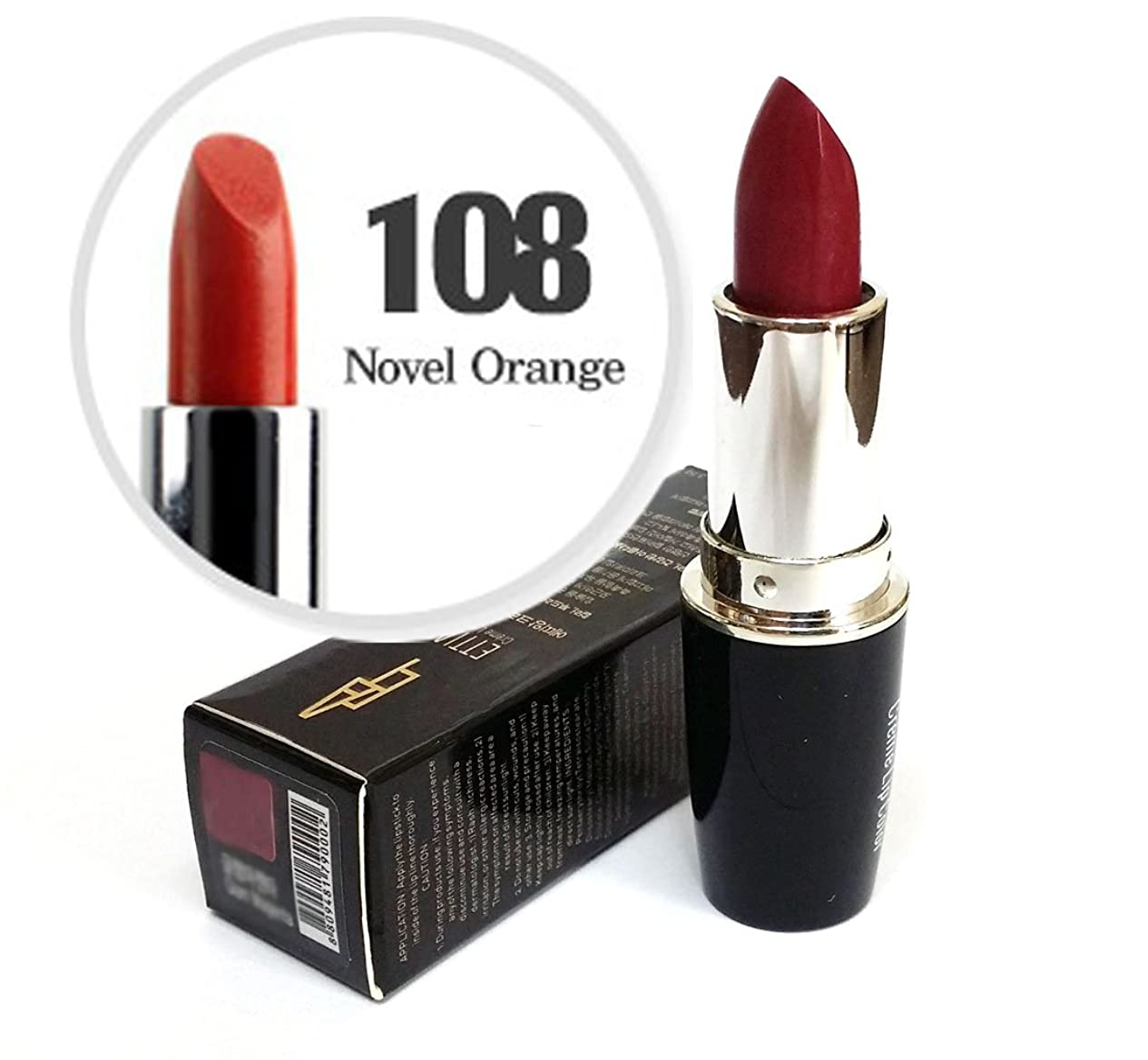 アルバム繁雑ベリ[Ettian] クリームリップカラー3.5g / Cream Lip Color 3.5g / 新しい口紅 #108小説オレンジ/ New Lipstick #108 Novel Orange / ドライ感じることはありません / never feels dry / 韓国化粧品 / Korean Cosmetics [並行輸入品]