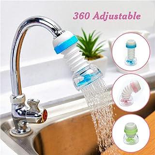 pranali enterprise Anti-Splash Expandable 360 Degree Rotary Water Saving Kitchen Faucet Shower Head Nozzle Tap r Water Sav...