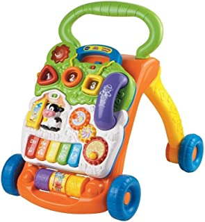 VTech sit-to-stand caminador, Base, Anaranjado