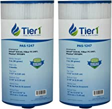 Tier1 Spas Freeflow Legend, Pleatco PFF50P4, Filbur FC-2401, Unicel 5CH-45 Comparable Replacement Filter Cartridge (2-Pack)
