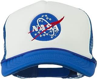 e4Hats.com NASA Insignia Embroidered Foam Mesh Cap