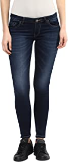 AMERICAN CREW Women's Skinny Fit Jeans