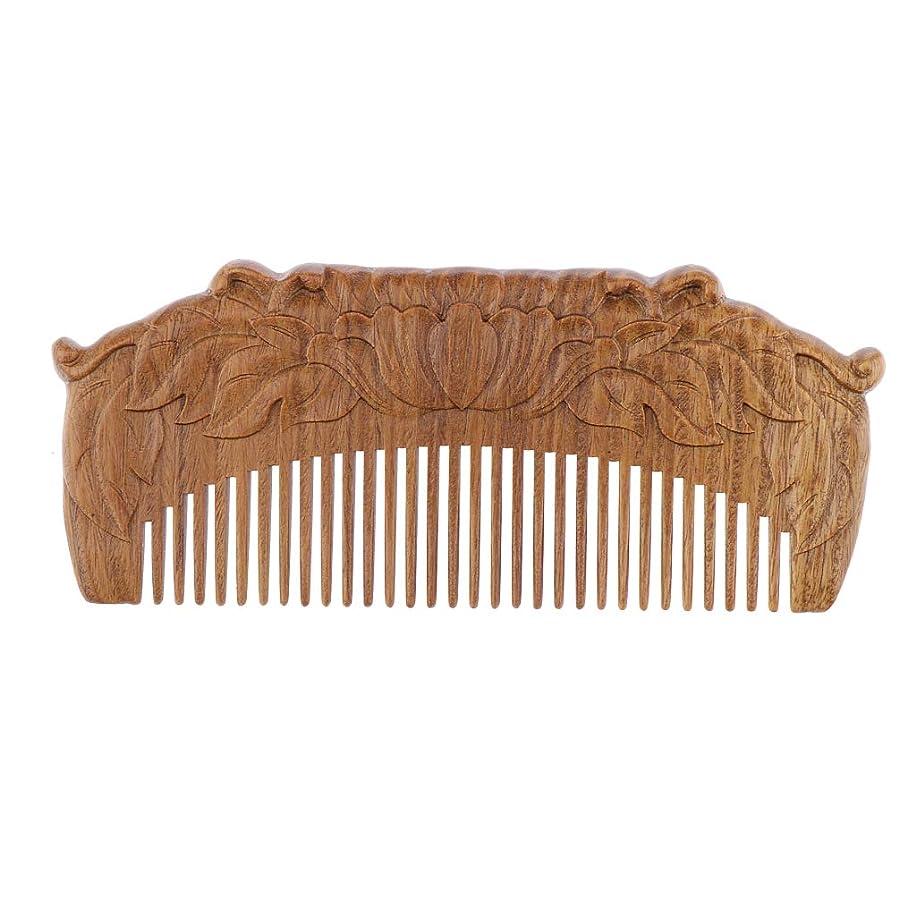 ピック考える噂B Blesiya 木製櫛 ヘアコーム ヘアブラシ 天然木 手作り プレゼント