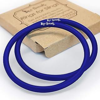 Roo Threads Aluminum Rings for Baby Slings, Blue