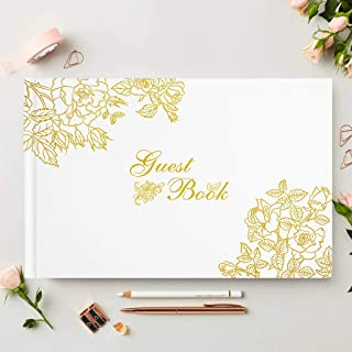 Wedding Guest Book, Polaroid Photo Albums Sign-in/Registry Memories Book for Anniversary, Baby Shower, Birthday Party (6''x9'')