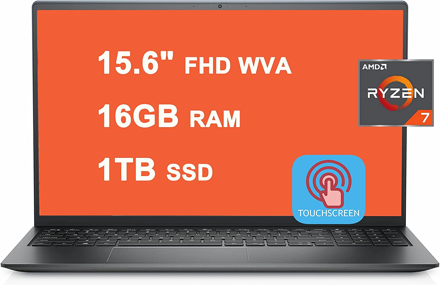 Dell 2021 Flagship Inspiron 15 5000 5515 Laptop 15.6