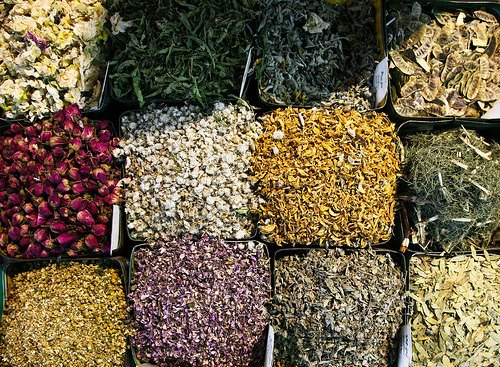 Herbal Sampler: Flowers (All Organic)