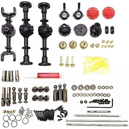 Rc Teile Komplettsatz Für Ferngesteuertes Auto Upgrade Teile Metall Antriebswelle Für 1 16 Wpl B14 B24 B26 C14 C24 Rc Crawler Auto Zubehör Baumarkt