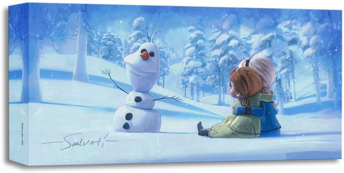 Memories of Magic Product by Jim Salvati Treasures Disney Canvas on Froz Max 89% OFF
