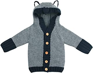 FORESTIME Toddler Kids Baby Boys Girls Clothes Zipper Tops Coat Jackets Cardigan Long Sleeve Pocket Butterfly Trench Coat