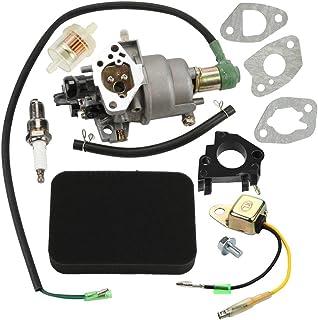 Panari Carburetor + Air Filter Insulator for Honda EB5000X EB6500X EB6500SX EM5000SX EW171 Generator