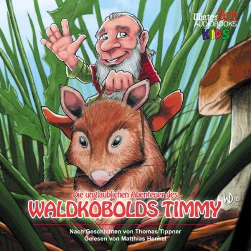 Die unglaublichen Abenteuer des Waldkobolds Timmy audiobook cover art