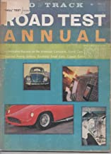 Road & Track Magazine, Road Test Annual 1960 Cars, Tests Conducted in 1959