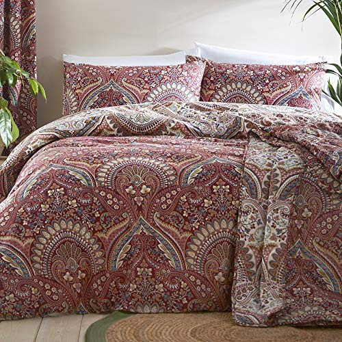 Dreams & Drapes Palais Parure de lit Facile d'entretien en Polycoton Multicolore Double