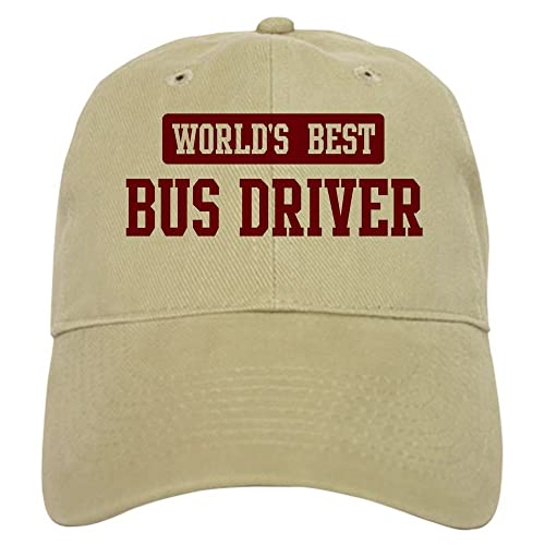 d290263a43266 CafePress - Worlds best Bus Driver Cap - Baseball Cap with Adjustable  Closure