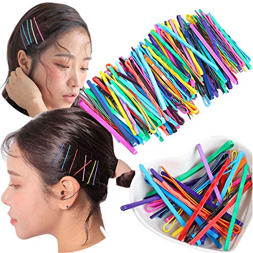 CÉLLOT 152 Pieces Mix Colorful Bobby Pin Bobby Hair Pins Hair Styling Clips for Girls and Women