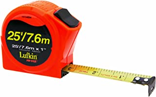 Lufkin HV1048DM 25mm x 8m Engineer-Foot Hi-Viz Orange Series 1000 Power Tape