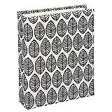 Hama La Fleur Fotoalbum Schwarz, Weiß - Fotoalben (Schwarz, Weiß, 40 Blätter, 10 x 15, 40 Blätter, 8 Stück(e), 130 mm)