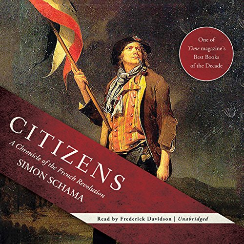 Citizens audiobook cover art