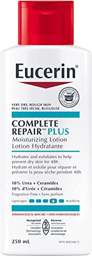 EUCERIN Complete Repair Rich Moisturizing Lotion for Dry to Extremely Dry, Rough and Tight Skin, 250 mL