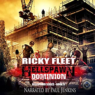 Hellspawn Dominion audiobook cover art