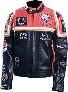 Men's Harley Davidson Motor Biker Real Leather Jacket.