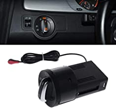 Auto Headlight Chrome Switch Plug for Golf 4 Jetta MK4 Passat B5